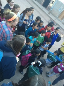 Bing students with AbrePuertas students (taken by Sarah Glose)