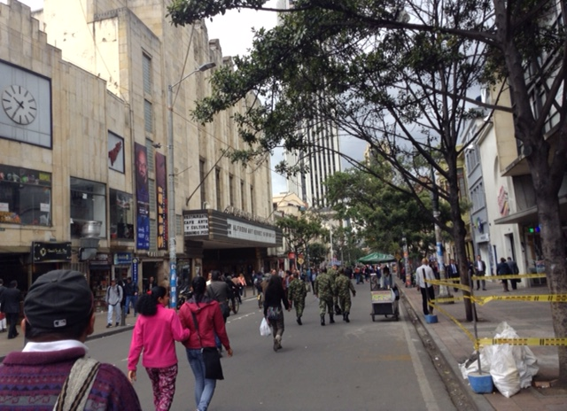 5.Bogota pedestrian