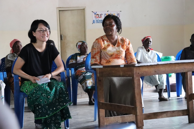Prof Youjung Lee and Phoebe Kufeyani, MCM Social Work Director
